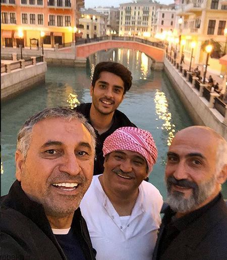 بیوگرافی ساعد سهیلی 4 عکس های ساعد سهیلی و همسرش