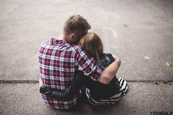 عکس عاشقانه دونفره آغوش عکس عاشقانه دونفره بدون متن   عکس پروفایل دونفره  غمگین خفن