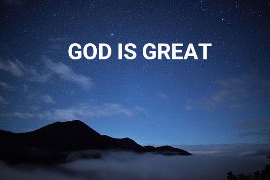 عکس نوشته خدا بزرگه 6 عکس نوشته های خدا بزرگه و خدا هواتو داره غصه نخور برای پروفایل
