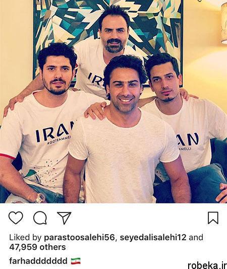 155 hh جدیدترین عکس بازیگران ایرانی در شبکه های اجتماعی
