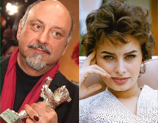 156287117711647  بازیگر ایرانی با سوفیا لورن همبازی شد (عکس)