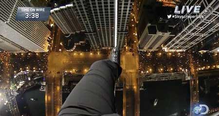 1579354016 robeka.ir عکس های نفس گیر از راه رفتن روی طناب