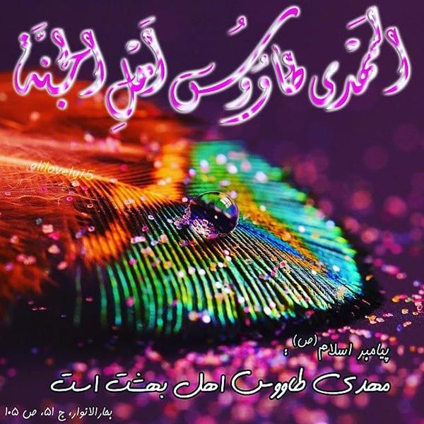 1586353443 robeka.ir 20 عکس پروفایل ولادت امام زمان (عج) + متن و اشعار تبریک تولد حضرت مهدی