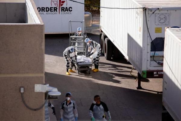 1608094786 robeka.ir استخدام زندانیان زندان در تگزاس به عنوان نعش کِش فوتی های کرونایی/ عکس