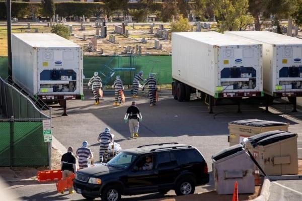1608094788 robeka.ir استخدام زندانیان زندان در تگزاس به عنوان نعش کِش فوتی های کرونایی/ عکس