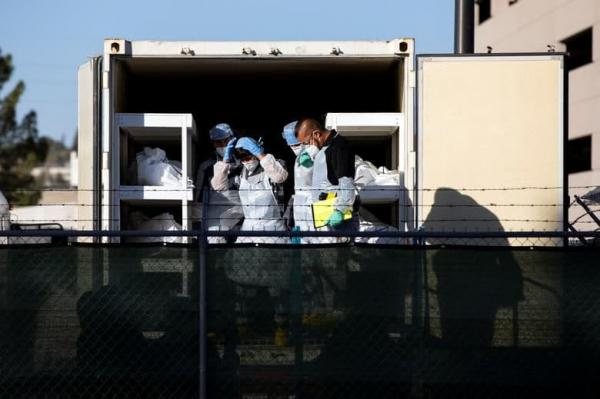 1608094789 robeka.ir استخدام زندانیان زندان در تگزاس به عنوان نعش کِش فوتی های کرونایی/ عکس