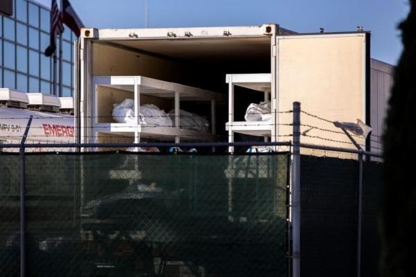 1608094793 robeka.ir استخدام زندانیان زندان در تگزاس به عنوان نعش کِش فوتی های کرونایی/ عکس