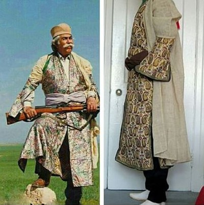 1608440825 robeka.ir آشنایی با لباس محلی مردان و زنان شیراز