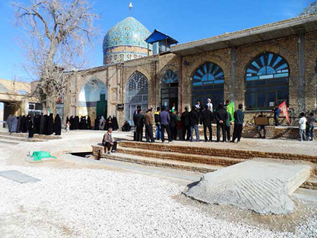 1609355480 robeka.ir معرفی امامزاده احمدرضا در اصفهان
