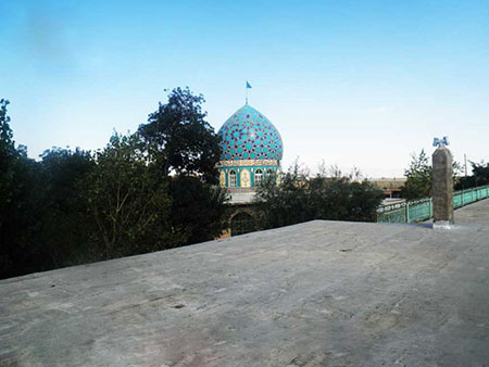 1609355482 robeka.ir معرفی امامزاده احمدرضا در اصفهان
