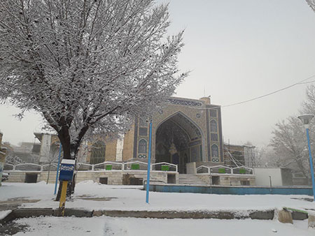 1609355487 robeka.ir معرفی امامزاده احمدرضا در اصفهان