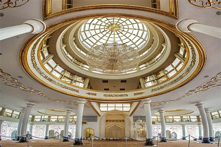 1609355575 robeka.ir مسجد کریستال، شاهکار هنری و معماری در مالزی