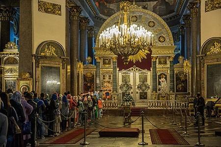 1609621249 robeka.ir کلیسای کازان، از بناهای پربازدید مسکو (+تصاویر)