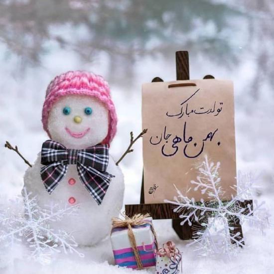 1611766648 robeka.ir عکس نوشته های من یه بهمن ماهی ام + متن برای متولدین بهمن ماه