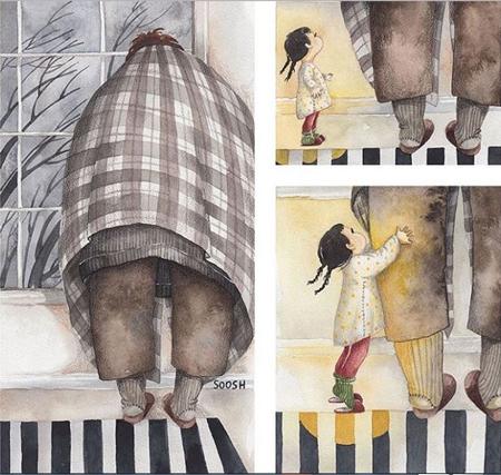 1614629896 560 تصاویر زیبا از عشق و علاقه پدرها به دخترانشان تصاویر زیبا از عشق و علاقه پدرها به دخترانشان