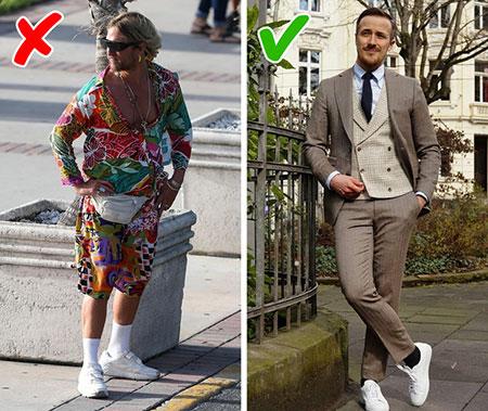 %name 10 اشتباه که هنوز مردان در لباس پوشیدن انجام می دهند