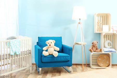 اتاق کودک نکات فنگ شویی برای اتاق کودک