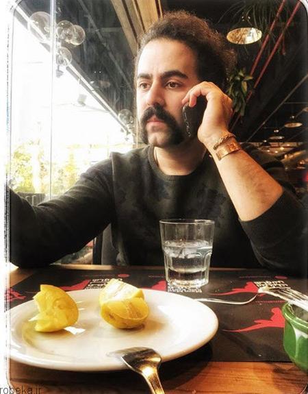 امید نعمتی 3 عکس های امید نعمتی خوانندهٔ گروه موسیقی پالت