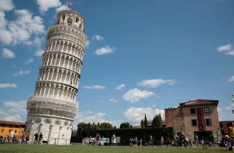 برج پیزا برج پیزا چگونه برابر زلزله مقاومت میکند +عکس