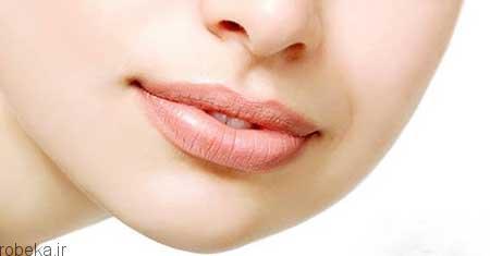 خشکی لب درمان های خانگی رفع خشکی لب