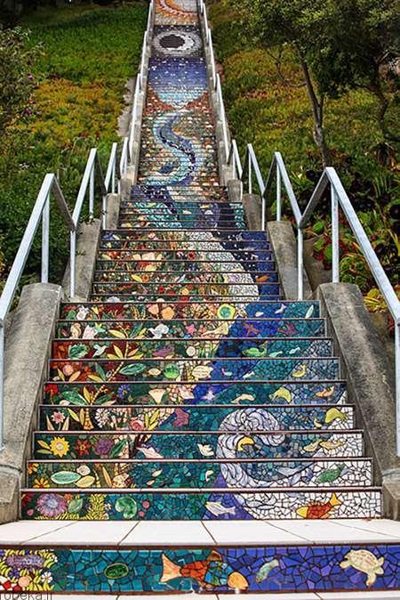 راه پلههای شگفت انگیز 5 راه پلههای شگفت انگیز در فضای باز +عکس