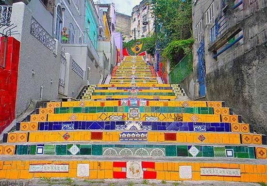 راه پلههای شگفت انگیز 6 راه پلههای شگفت انگیز در فضای باز +عکس