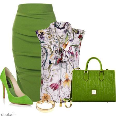 ست لباس تابستانی زنانه 10 ست لباس تابستانی زنانه