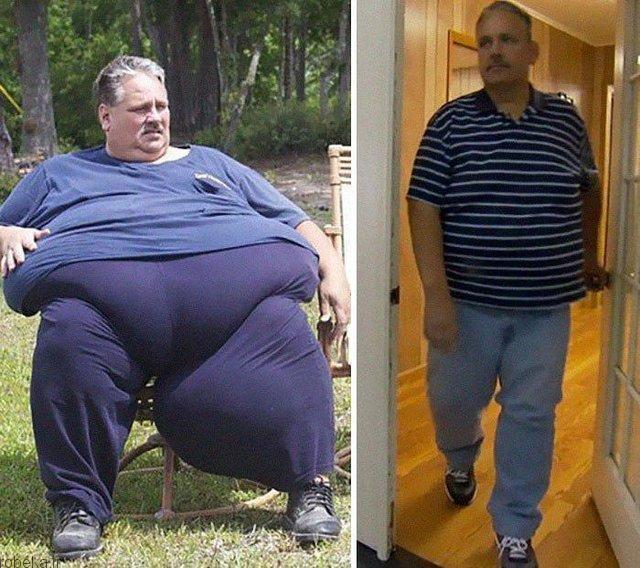 شکست چاقی شکست چاقی با اراده پولادین (+عکس)