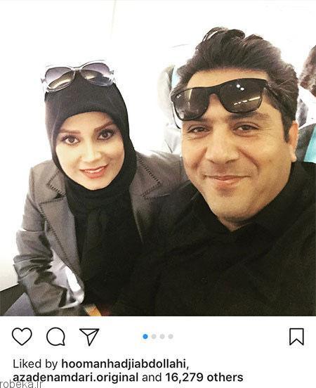 عکس بازیگران 5 1 عکس بازیگران ایرانی در شبکه های اجتماعی (2)