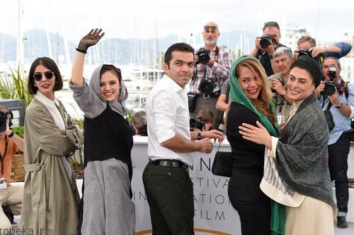 عکس های بازیگران فیلم سه رخ 13 عکس های بازیگران و عوامل فیلم سه رخ در جشنواره کن