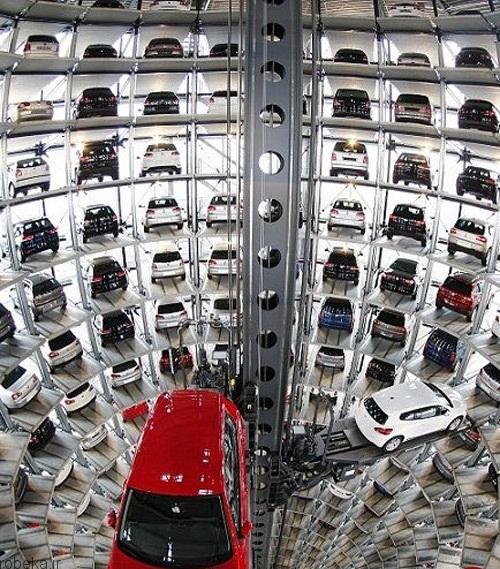 مجللترین پارکینکهای طبقاتی 2 عکس هایی از مجللترین پارکینکهای طبقاتی