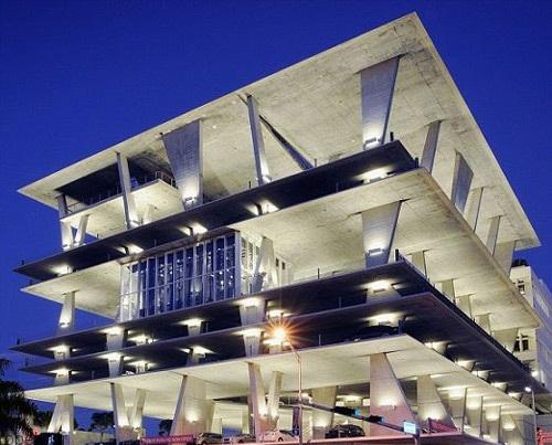 مجللترین پارکینکهای طبقاتی 3 عکس هایی از مجللترین پارکینکهای طبقاتی