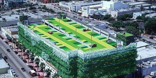 مجللترین پارکینکهای طبقاتی 4 عکس هایی از مجللترین پارکینکهای طبقاتی