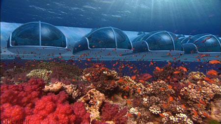 هتل پوزیدون 2 هتل پوزیدون از هتل های لوکس زیر آب