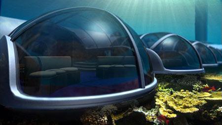 هتل پوزیدون 3 هتل پوزیدون از هتل های لوکس زیر آب