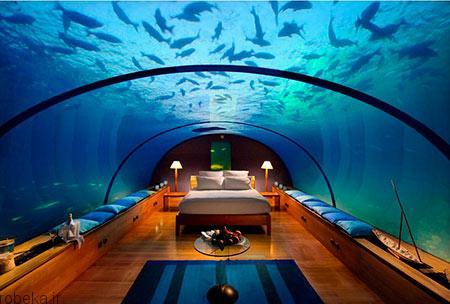 هتل پوزیدون 6 هتل پوزیدون از هتل های لوکس زیر آب