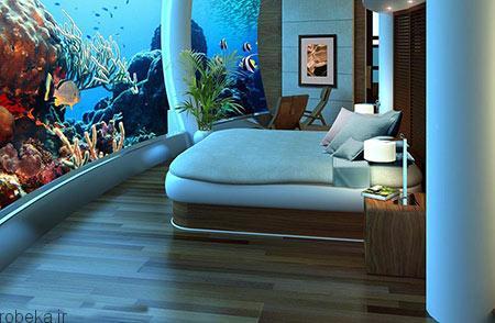 هتل پوزیدون 7 هتل پوزیدون از هتل های لوکس زیر آب