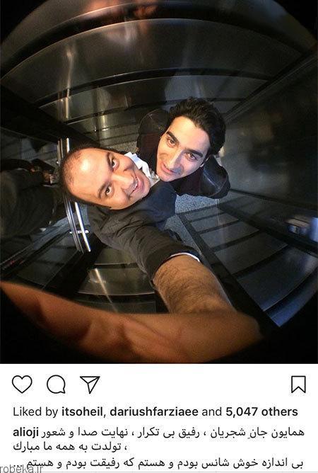 7 1 عکس بازیگران ایرانی در شبکه های اجتماعی (4)