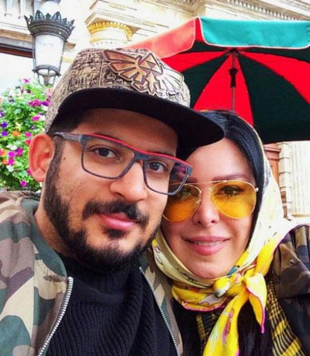 6874212698 بیوگرافی فلور نظری + عکس همسر و پسرش