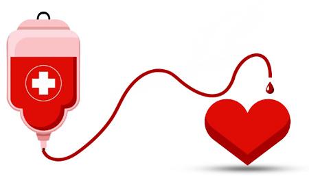 6909876312÷970 - کارت پستال روز اهدای خون
