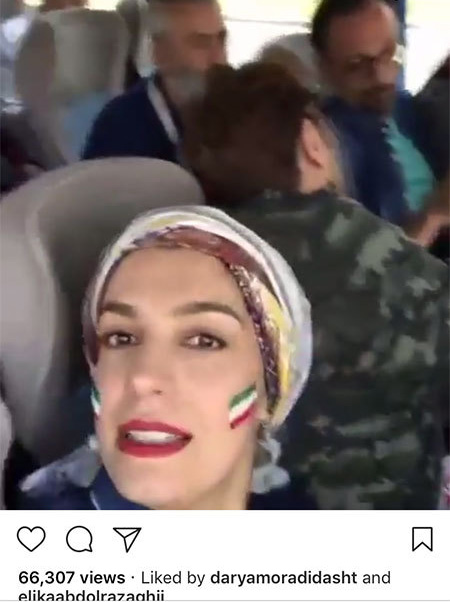 97 03 07ba1181 جدیدترین عکس بازیگران مشهور ایرانی در شبکههای اجتماعی