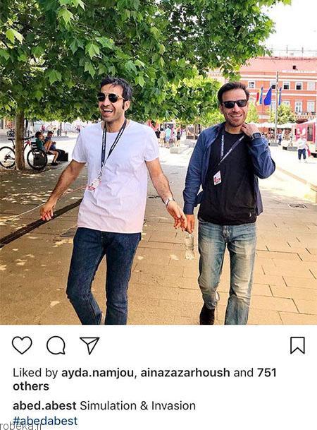 97 03 07ba297 عکس بازیگران ایرانی در شبکه های اجتماعی (6)