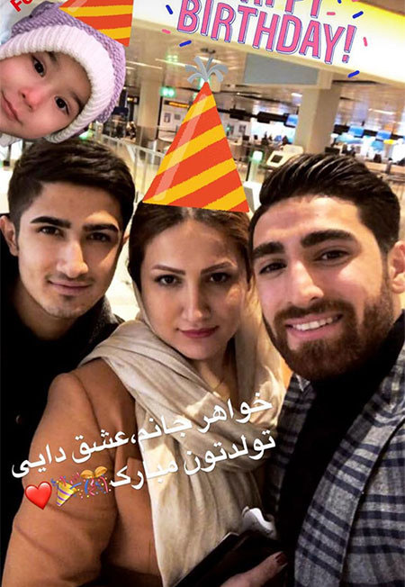 97 04 m324 ناب ترین عکس بازیگران ایرانی در شبکه های اجتماعی