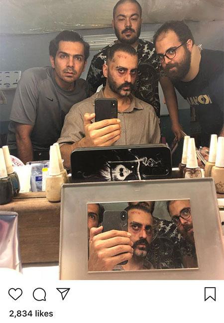 97 04 m327 ناب ترین عکس بازیگران ایرانی در شبکه های اجتماعی
