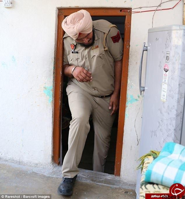 9703 52t2997 قدبلندترین افسر پلیس جهان در هند خدمت میکند (عکس)
