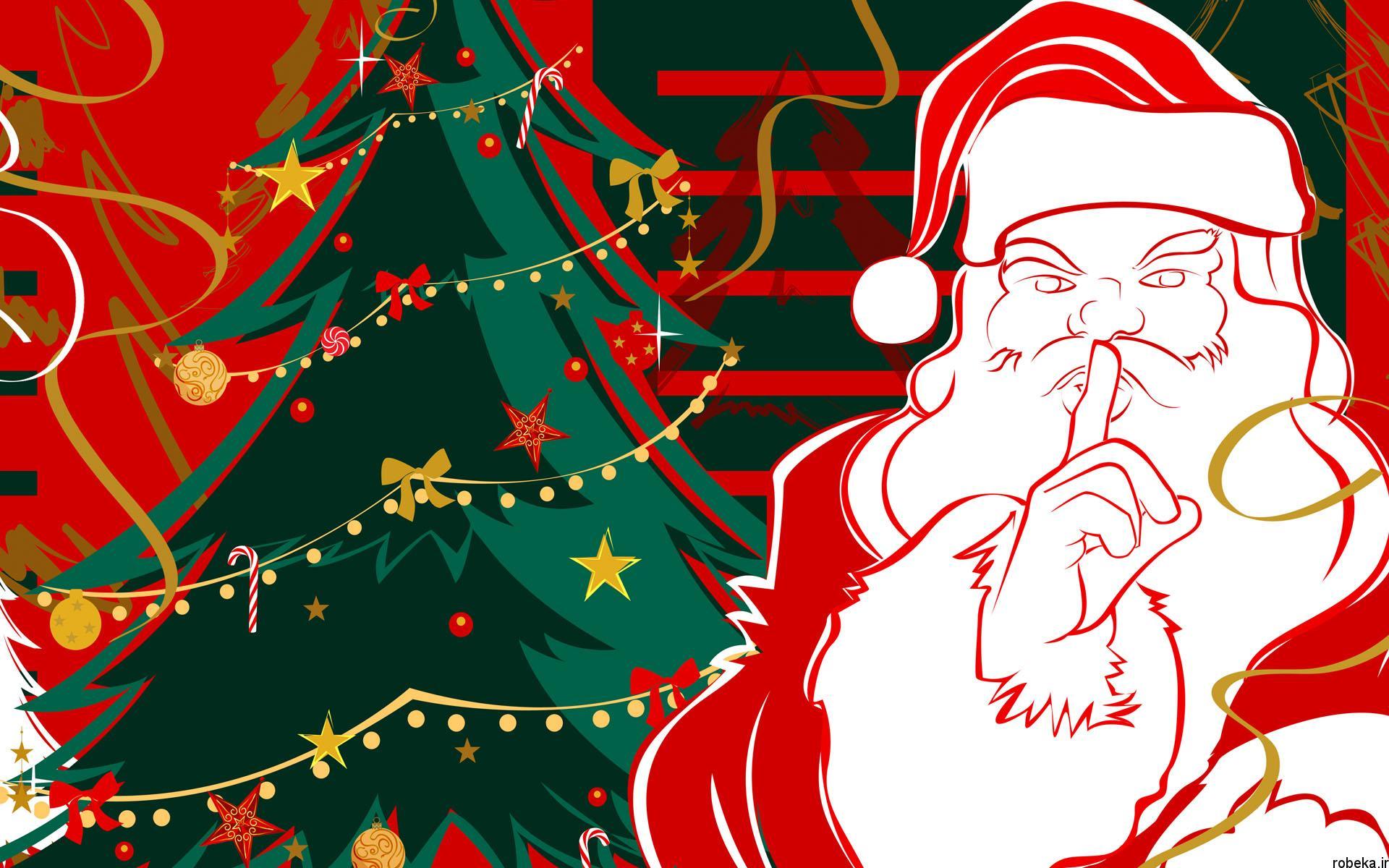 دانلود والپیپر بابانوئل