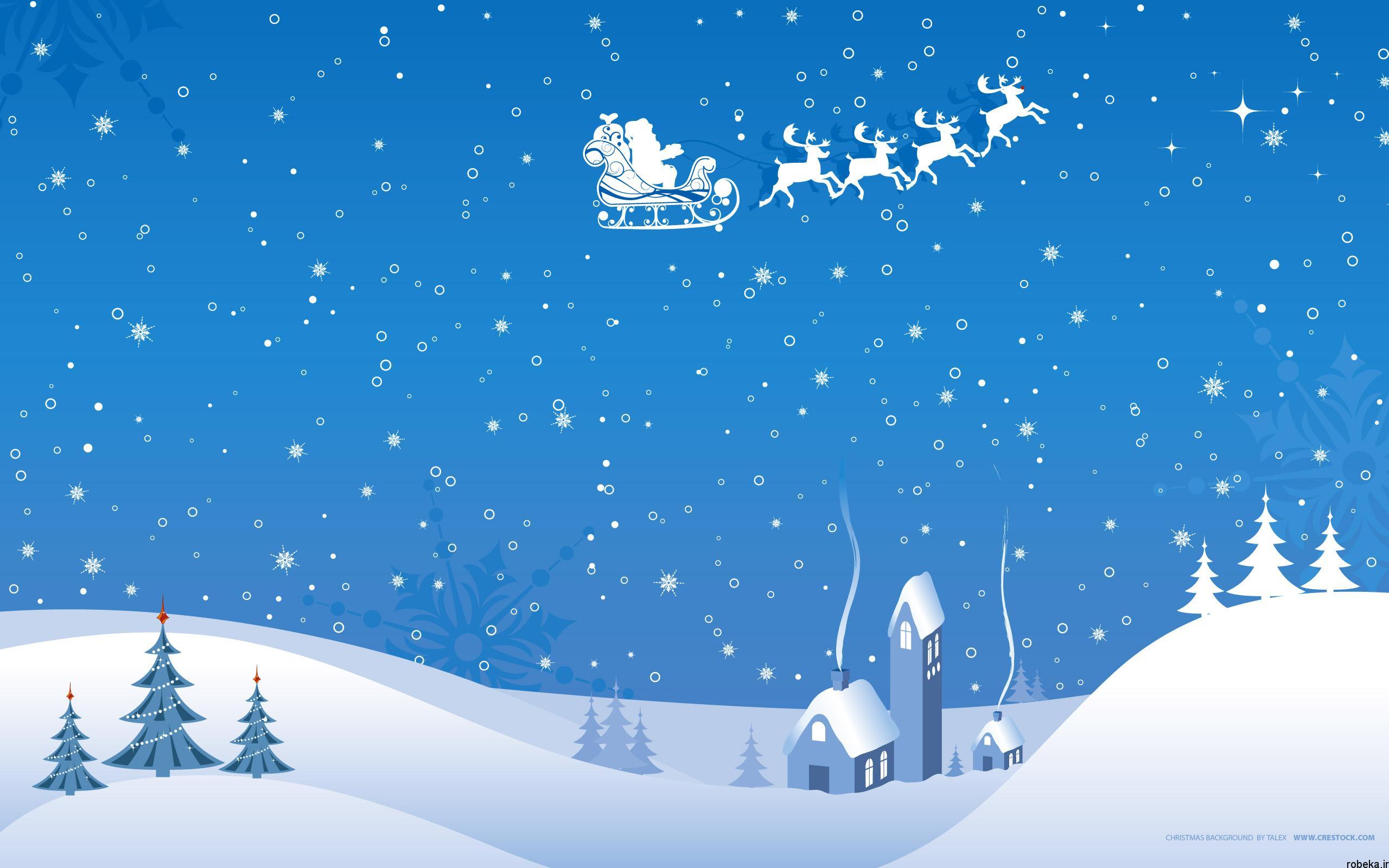 دانلود والپیپر کریسمس
