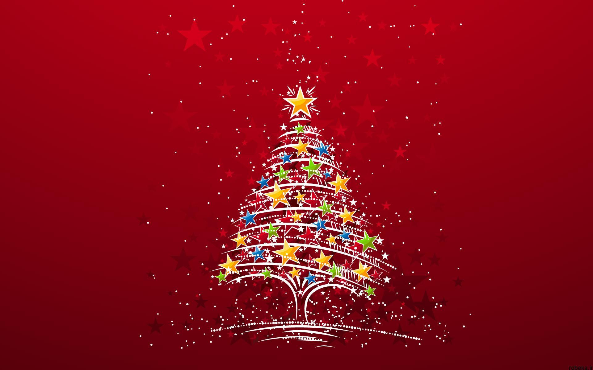 دانلود والپیپر درخت کریسمس