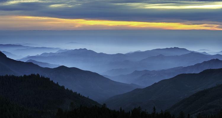National Park 1 20 عكس ديدني از پارك هاي ملي با زمين هاي رنگين كماني در ايالات متحده آمريكا