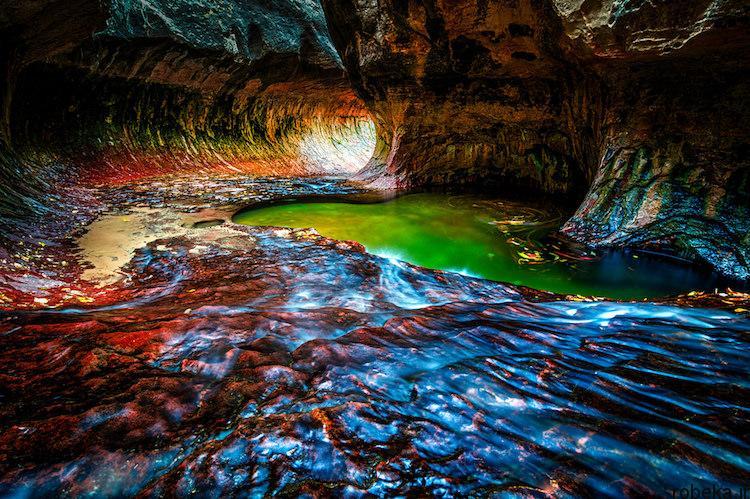 National Park 2 20 عکس دیدنی از پارک های ملی با زمین های رنگین کمانی در ایالات متحده آمریکا